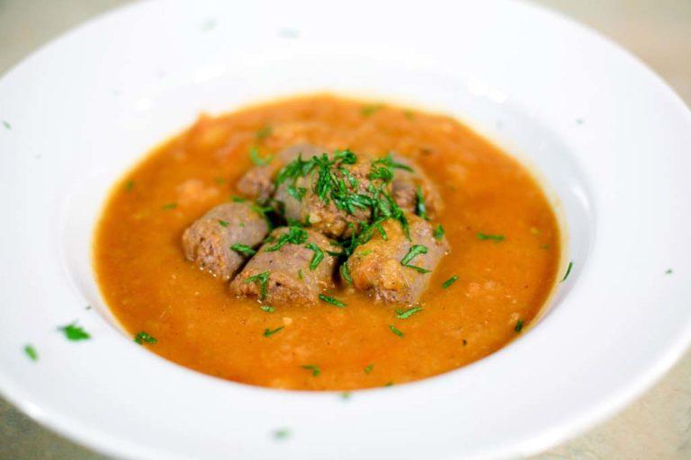 Venison Sausage Stew