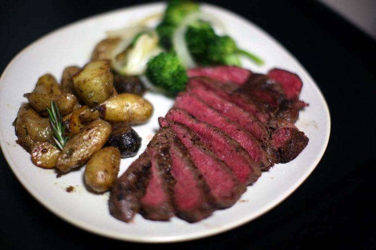 Pan-Fried Kobe Beef Steak
