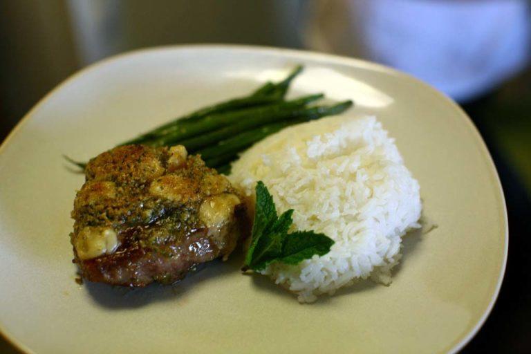 Pan-Fried Lamb Chops