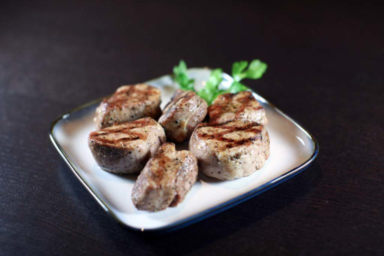 Grilled Pork Tenderloin Chops